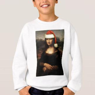 Mona Lisa Santa Sweatshirt