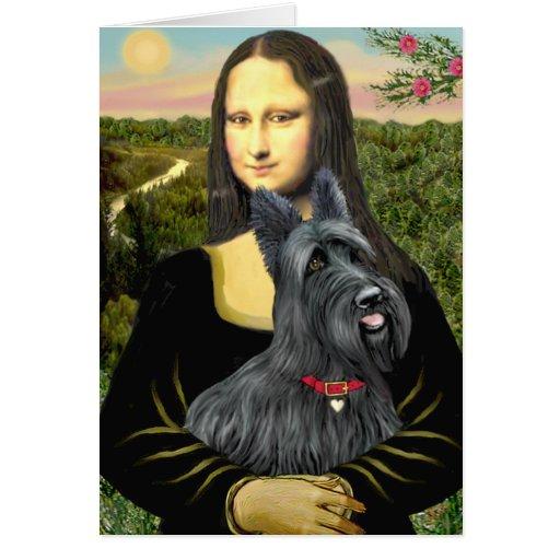 Mona Lisa - Scottish Terrier #1 Card