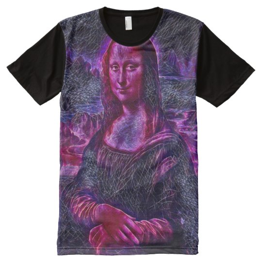 Mona Lisa Secret Geometric Portrait