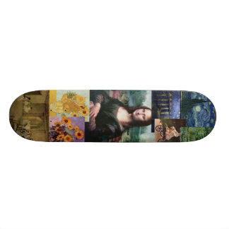 Mona Lisa Skateboard