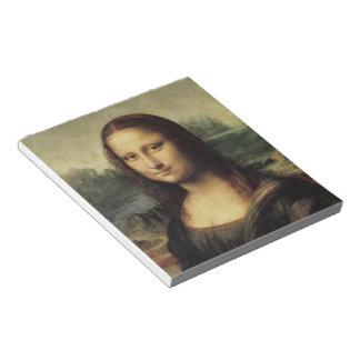Mona Lisa smile Notepads