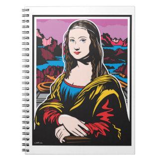 Mona Lisa Spiral Notebooks