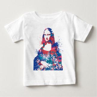 Mona Lisa splach Baby T-Shirt