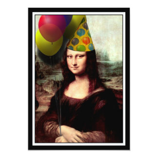 Mona Lisa -  The Birthday Girl Card