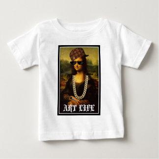 Mona Lisa Thug Life Art Life Baby T-Shirt