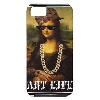 Mona Lisa Thug Life Art Life Case For The iPhone 5