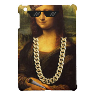Mona Lisa Thug Life Art Life iPad Mini Cover