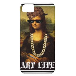 Mona Lisa Thug Life Art Life iPhone 5 Cases