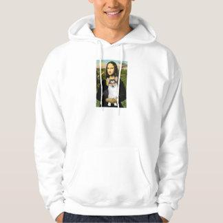 Mona Lisa - Tri Color Welsh Corgi 10 Hoodie