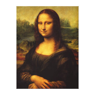 Mona Lisa Wall Canvas