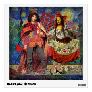 Mona Lisa Whimsical Wall Sticker