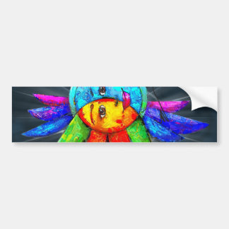 Mona Lisa Window Sitcker Bumper Sticker