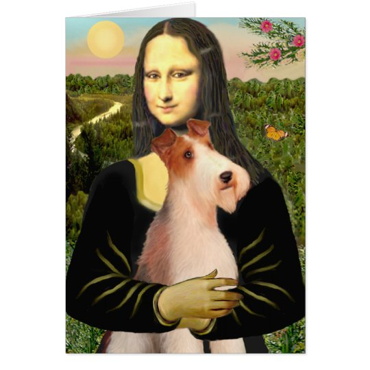 Mona Lisa - Wire Fox T (4) Card