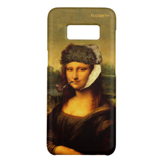 Mona Lisa With Bandaged Ear Van Gogh Hat And Pipe Case-Mate Samsung Galaxy S8 Case