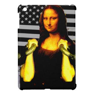 Mona Lisa with KettleBells iPad Mini Cover