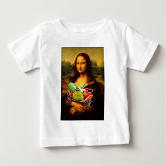 Mona Lisa With Vegetables Baby T-Shirt