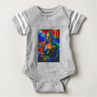 Mona Lisa Wpap Baby Bodysuit