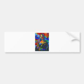 Mona Lisa Wpap Bumper Sticker