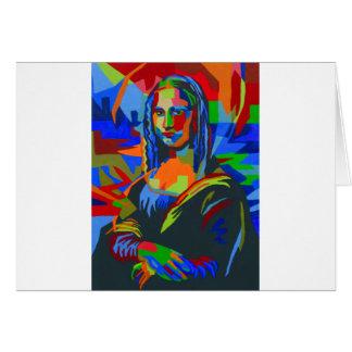 Mona Lisa Wpap Card