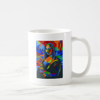 Mona Lisa Wpap Coffee Mug