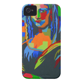 Mona Lisa Wpap iPhone 4 Case-Mate Case