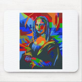 Mona Lisa Wpap Mouse Pad