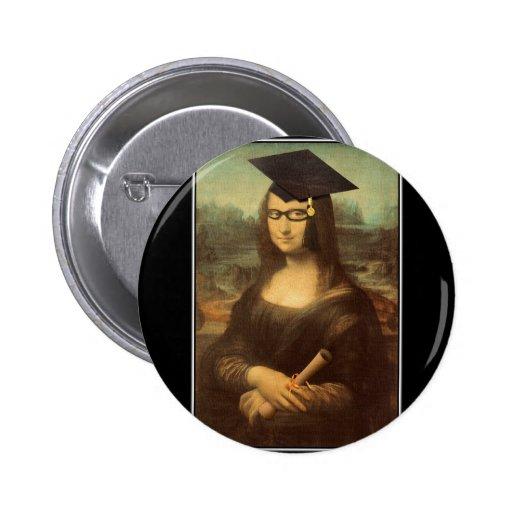 Mona Lisa's Graduation Day Pins