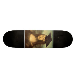 Mona Lisa's Graduation Day Skate Board Decks