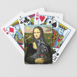 Mona Lisa's Scottish Terrier (#1) Bicycle Playing Cards