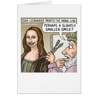 Mona Lisa's Smile Card