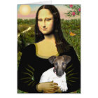Mona Llisa - Fox Terrier Pup Card