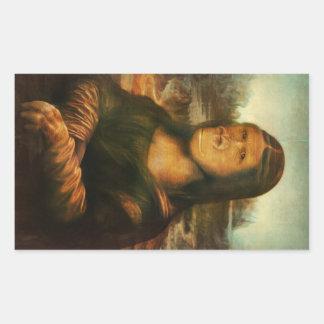 Mona Rilla aka  Mona Lisa Sticker