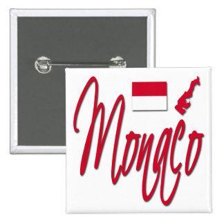 Monaco 2 Inch Square Button