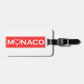 Monaco Bag Tag