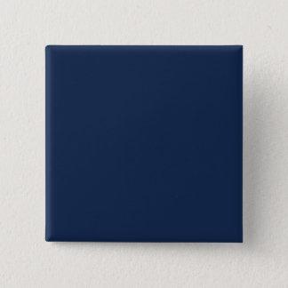 Monaco Blue Trend Color Dark Blue Customized Blank 2 Inch Square Button