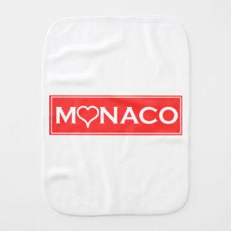 Monaco Burp Cloth