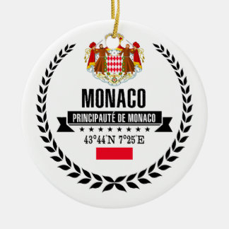 Monaco Ceramic Ornament