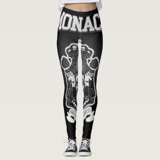 Monaco Coat of Arms Leggings