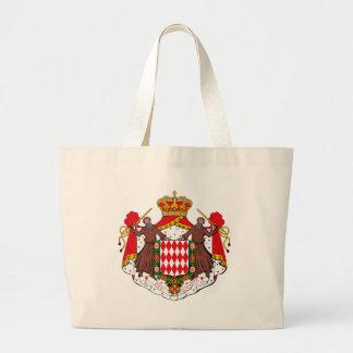 Monaco Coat of Arms Tote Bag