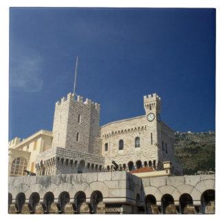 Monaco, Cote d'Azur, Prince's Palace. Ceramic Tile