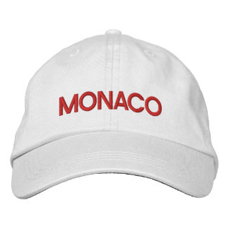 Monaco* Embroidered Hat