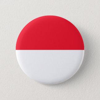 Monaco Flag 2 Inch Round Button