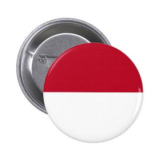 Monaco_flag 2 Inch Round Button