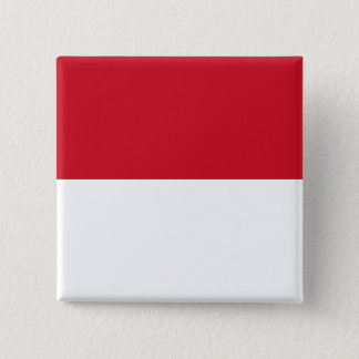 Monaco Flag 2 Inch Square Button