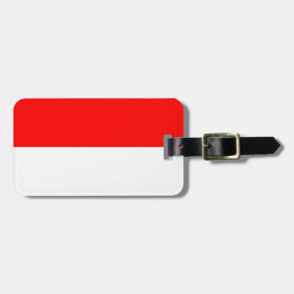 Monaco flag bag tag