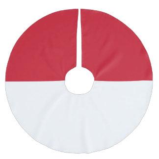 Monaco Flag Brushed Polyester Tree Skirt