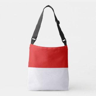 Monaco Flag Crossbody Bag