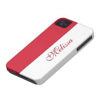 Monaco Flag iPhone 4 Case