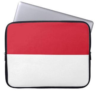 Monaco Flag Laptop Sleeve