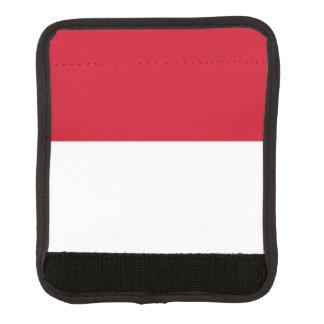Monaco Flag Luggage Handle Wrap